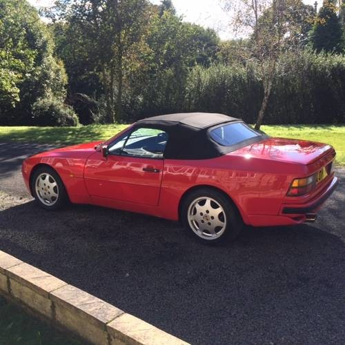 for sale porsche 944 turbo convertible 1992 classic cars hq. Black Bedroom Furniture Sets. Home Design Ideas