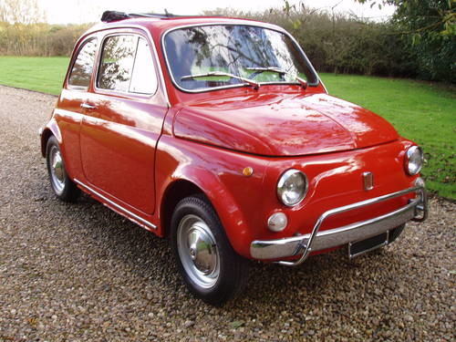 for sale fiat 500 lusso 1970 classic cars hq. Black Bedroom Furniture Sets. Home Design Ideas