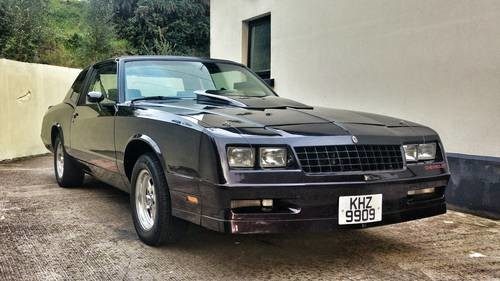 for sale 1985 monte carlo ss with t tops classic cars hq. Black Bedroom Furniture Sets. Home Design Ideas