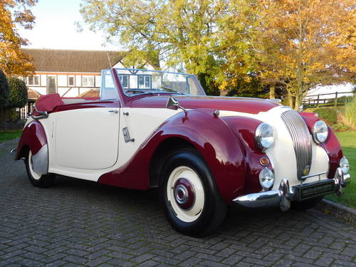 For Sale – Lagonda 2.5 Drophead Coupe (1952) | Classic ...