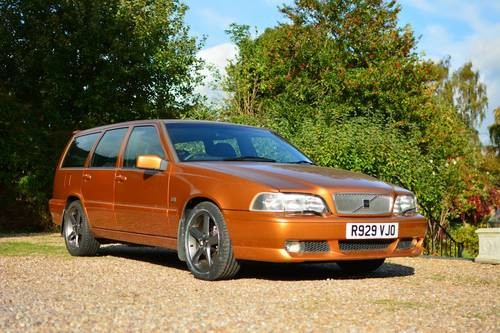 for sale volvo v70 r awd saffron gold 88k 1997 classic cars hq. Black Bedroom Furniture Sets. Home Design Ideas