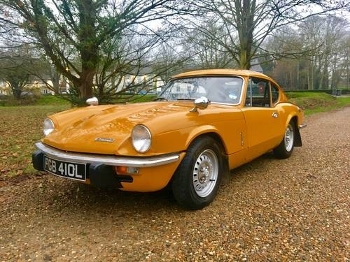 for sale truimph gt6 mk 3 72 l only 79 000 miles 4 owners in total 1972 classic cars hq. Black Bedroom Furniture Sets. Home Design Ideas