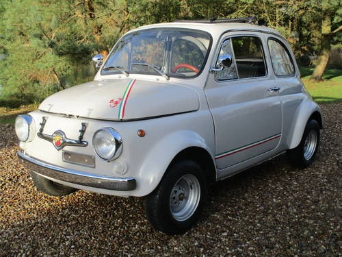 for sale fiat 500 abarth 1972 evocation a fortune spent classic cars hq. Black Bedroom Furniture Sets. Home Design Ideas