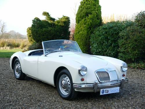 for sale 1989 mga 1500 roadster right hand drive lovely condition 1959 classic cars hq. Black Bedroom Furniture Sets. Home Design Ideas
