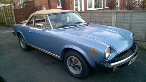 For Sale Fiat 124 Spider 2000 Cheap Car Ready To Finish