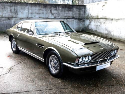 For Sale Aston Martin DBS Vantage Classic Cars HQ - Aston martin 1970 for sale