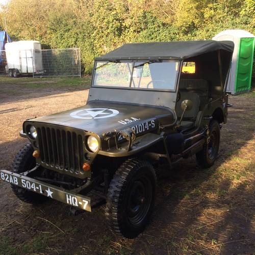for sale willys jeep hotchkiss m201 1963 classic cars hq. Black Bedroom Furniture Sets. Home Design Ideas