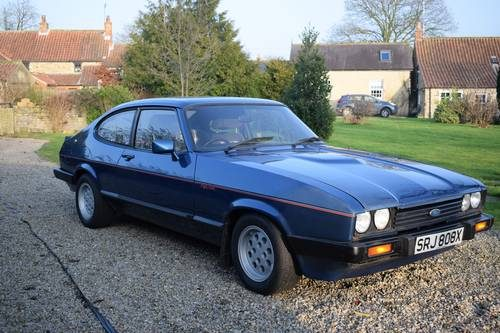 for sale 1981 ford capri one of earliest around. Black Bedroom Furniture Sets. Home Design Ideas