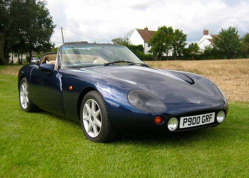 for sale tvr griffith 500 hc 1996 classic cars hq. Black Bedroom Furniture Sets. Home Design Ideas