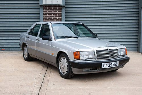 For Sale 1989 Mercedes W201 190e 2 6 Silver With Blue
