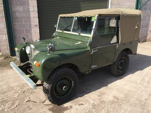 For Sale – 1952 Land Rover Series 1 80in with V8 power!!! | Clic
