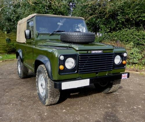 Used Land Rovers For Sale: For Sale – Land Rover Defender Soft Top (1986)