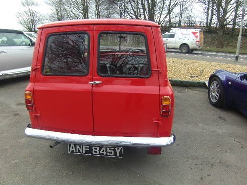 For Sale  Bedford HA Van for sale 1982  Classic Cars HQ