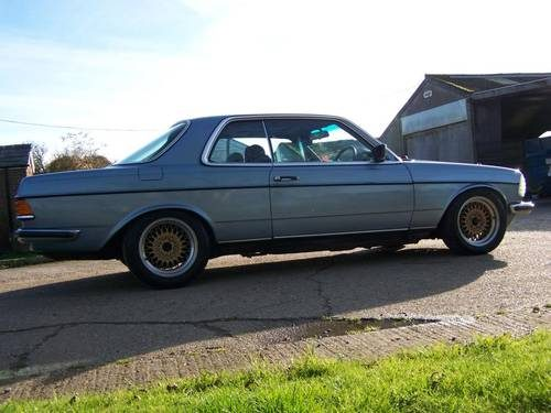 For Sale – mercedes w123 230ce pillarless coupe (1984