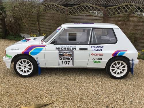For Sale Talbot Samba Group B Rally Car Lhd 1982 Classic Cars Hq