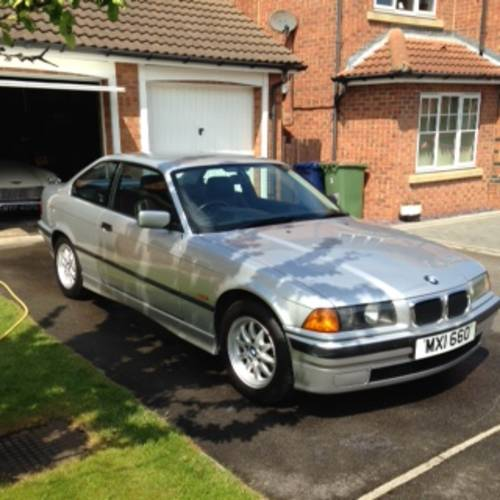 BMW E36 318iS Coupe With M44 Engine Very Low