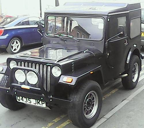 Jago Jeep Kit Car Mot'd Drive Away (1988