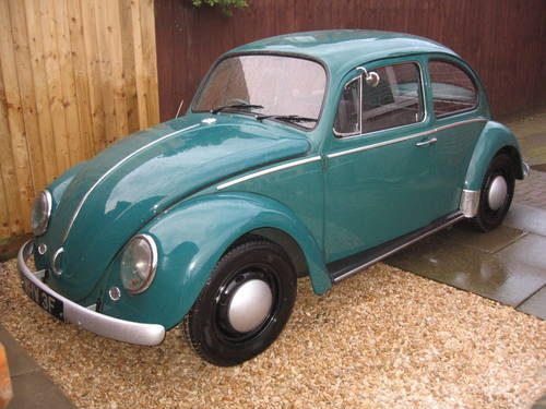 For Sale – 1967 Volkswagen Beetle in Java Green | Classic Cars HQ