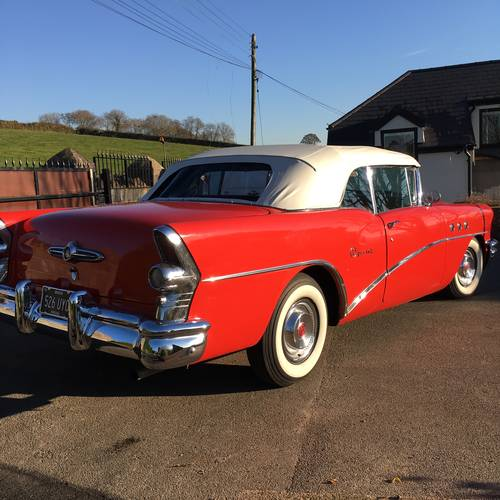 Buick Cars For Sale: For Sale – Buick Special Convertible 1955