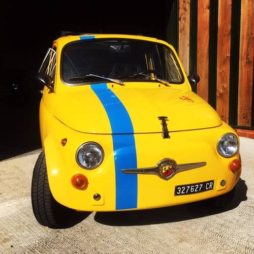 FIAT 500 ABARTH EVOCATION JUST IN FROM MILAN