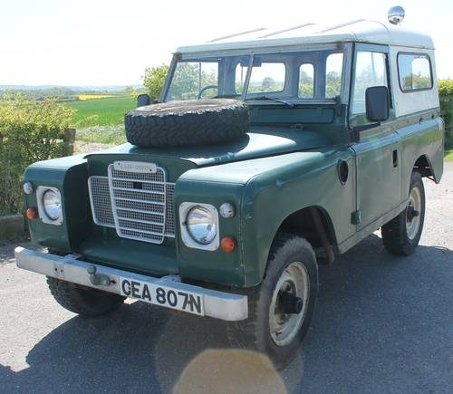 1974 Land Rover Series 3 88″ Diesel With