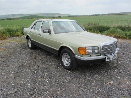 For sale 1982 mercedes benz 380 se w126 28 000miles 1 for Mercedes benz w126 for sale