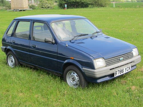 for sale 1985 austin metro 1 0l 5 door 46 000 miles from new classic cars hq. Black Bedroom Furniture Sets. Home Design Ideas