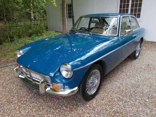 For Sale – MGB GT Heritage Shell Rebuild (1972) | Classic