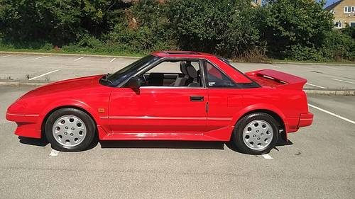 for sale 1989 g toyota mr2 mk1 1 6 classic aw11 no rust classic cars hq. Black Bedroom Furniture Sets. Home Design Ideas