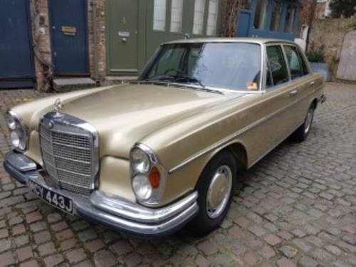For sale mercedes w108 280se 3 5 1972 classic cars hq for Mercedes benz w108 for sale