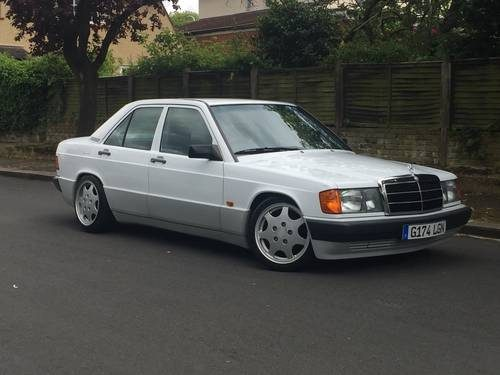 for sale 1989 mercedes 190e automatic with porsche. Black Bedroom Furniture Sets. Home Design Ideas
