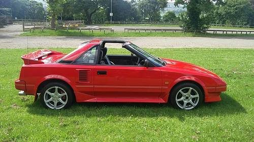 for sale 1988 f reg toyota mr2 mk1 tbar 1 6 aw11 122k miles 1989 classic cars hq. Black Bedroom Furniture Sets. Home Design Ideas