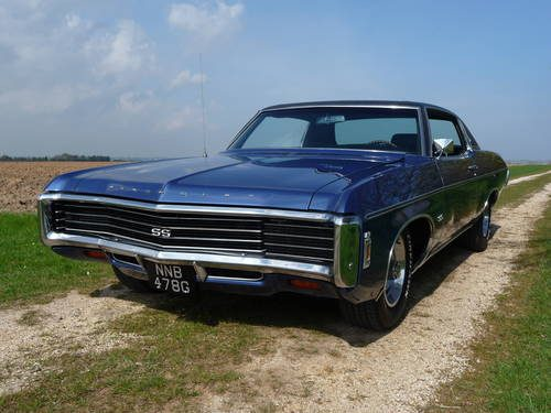 for sale 1969 chevrolet impala 427 classic cars hq. Black Bedroom Furniture Sets. Home Design Ideas