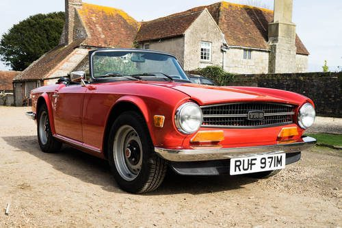 For Sale – TRIUMPH TR6  1974  A Great British 2-Seater