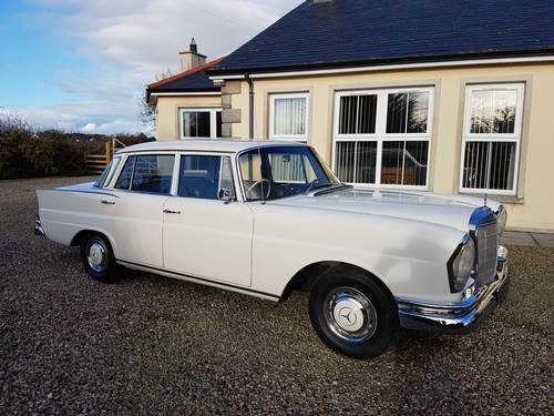 For sale mercedes benz 230s fintail 1966 classic for 1966 mercedes benz for sale
