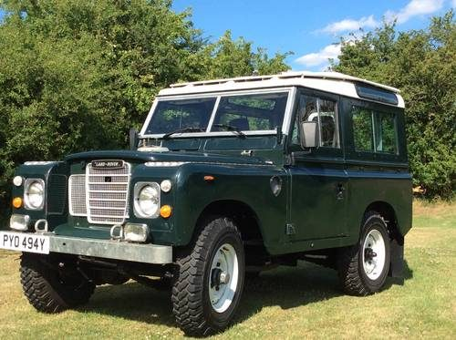 for sale land rover series 3 county station wagon 88 v8 1982 classic cars hq. Black Bedroom Furniture Sets. Home Design Ideas