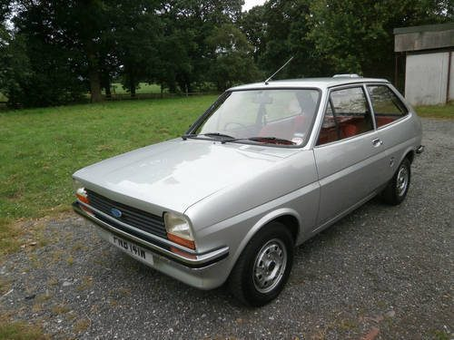 ford fiesta mk1 classic - photo #37