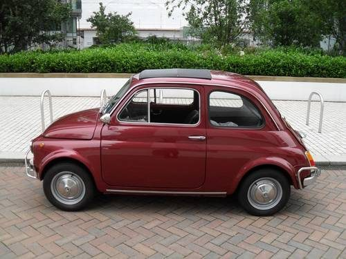 for sale fiat 500 lhd 1969 classic cars hq. Black Bedroom Furniture Sets. Home Design Ideas