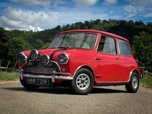 For Sale Mk1 Mini Cooper S Italian Job Replica 1967 Classic Cars Hq