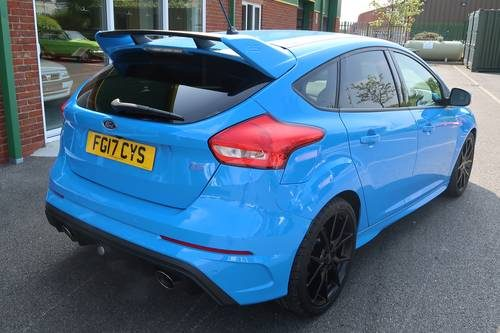 For Sale 2017 Ford Focus Rs 2 3 Ecoboost 350ps 5 Door