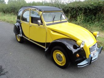 for sale citroen 2cv6 charleston yellow black 1987 classic cars hq. Black Bedroom Furniture Sets. Home Design Ideas