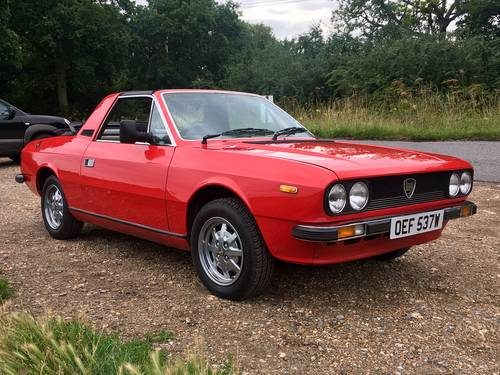 for sale – lancia beta spider (zagato) in sterling condition! (1981
