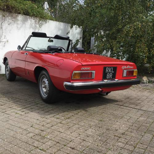 For Sale – ALFA ROMEO S2 Spider 2.0 (1977)