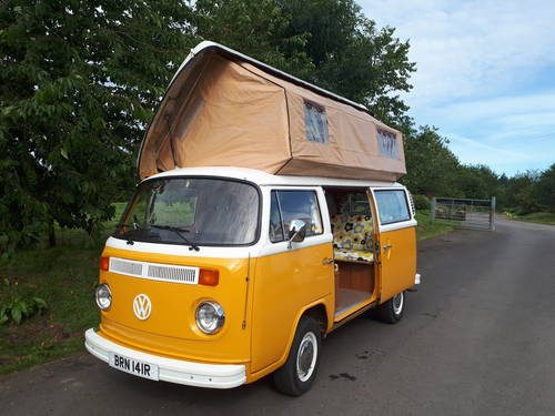 For Sale 1976 Vw Camper With Viking Roof Classic Cars Hq