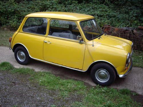 for sale mini 1000 auto 1978 inca yellow classic cars hq. Black Bedroom Furniture Sets. Home Design Ideas