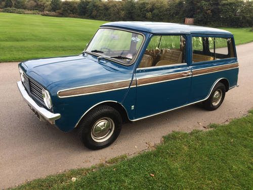 For Sale Morris Mini Clubman Estate 25k 2 Owner 1974 Classic