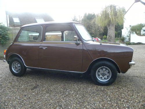 for sale austin mini clubman 8770 miles from new 1977 classic cars hq. Black Bedroom Furniture Sets. Home Design Ideas