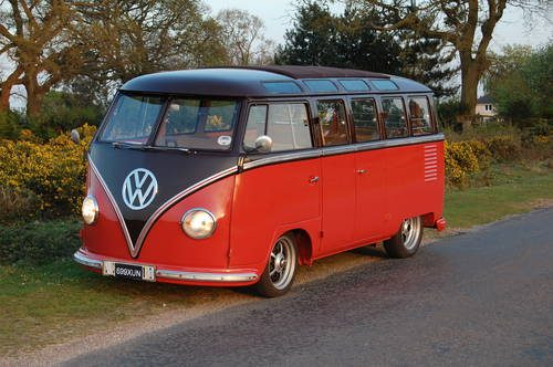 for sale vw right hand drive 23 window samba split 1956 classic cars hq. Black Bedroom Furniture Sets. Home Design Ideas