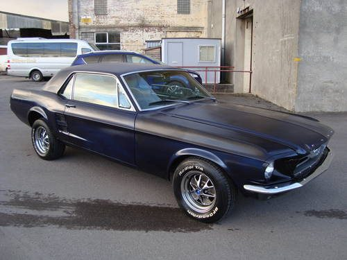 For sale ford mustang 200 33 coupe manual1967blue 99 rust free for freerunsca Image collections