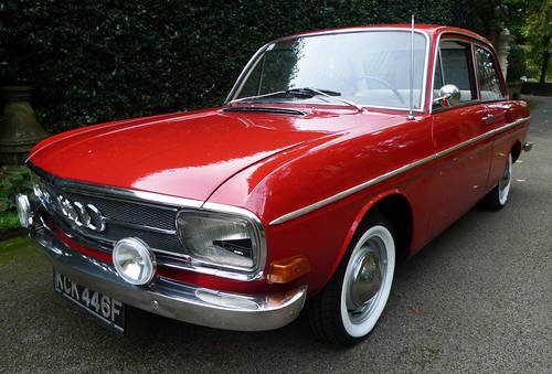 for sale audi 60l f103 1968 1 of only 3 in the u k classic
